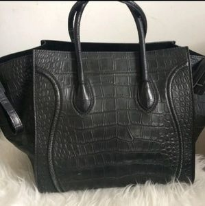 Celine Bags   Authentic Phantom Croc Stamped Bag   Poshmark b379a54388